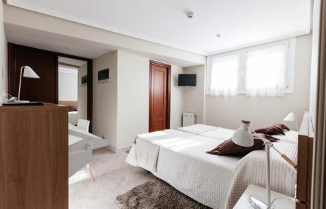 Habitación 1, Pensión Zumardi en Deba