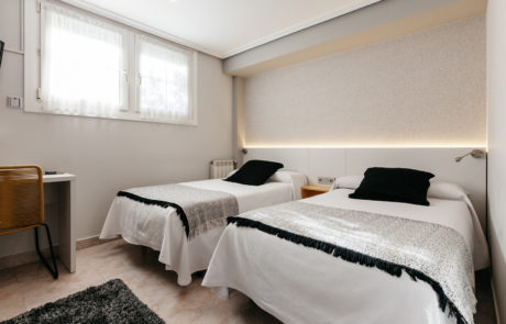 Habitación 2, Pensión Zumardi en Deba